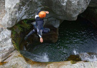 Saut dans le Canyon du Tapoul