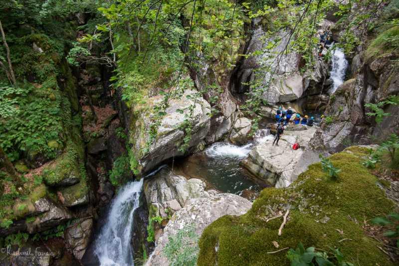 Vue sur le canyon du Tapoul en Lozère