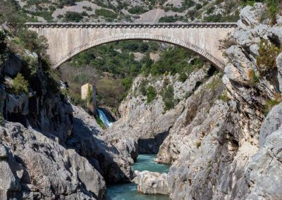 Pont dans le canyon du diable