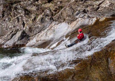 Toboggan dans le Canyon du Vialais